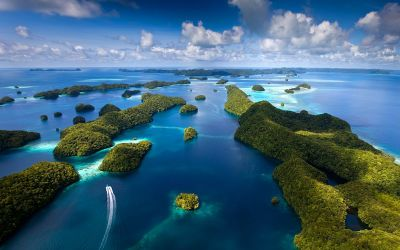 Palau: The amazing Pacific Rock Islands