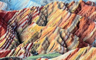 zhangye danxia mountains