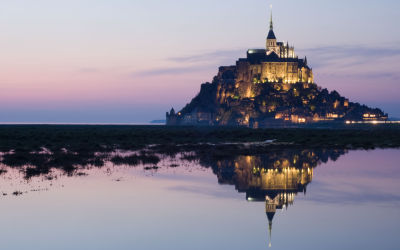 Famous Landmark in France, Le Mont Saint-Michel
