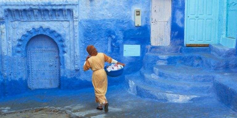 The Blue Town of Chefchaouen, Morocco