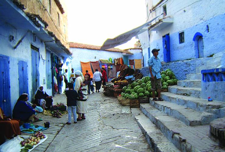 Chefchaouen Morocco Market