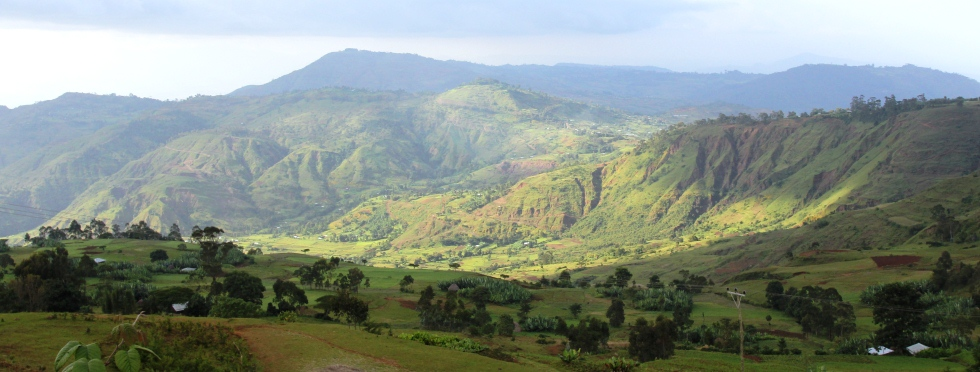Ehtiopian highland is one of top places to visit in Ethiopia