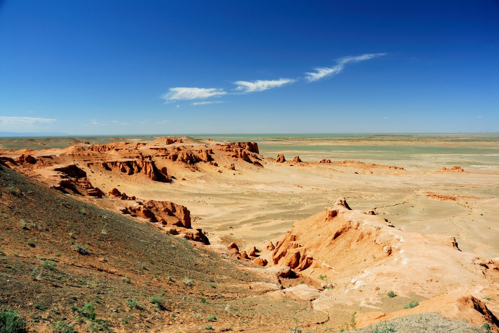 Gobi desert is the largest and driest desert in Asia