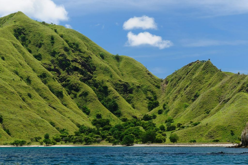 Komodo Island in Indonesia is an UNESCO World Heritage Site and a world-famous national park