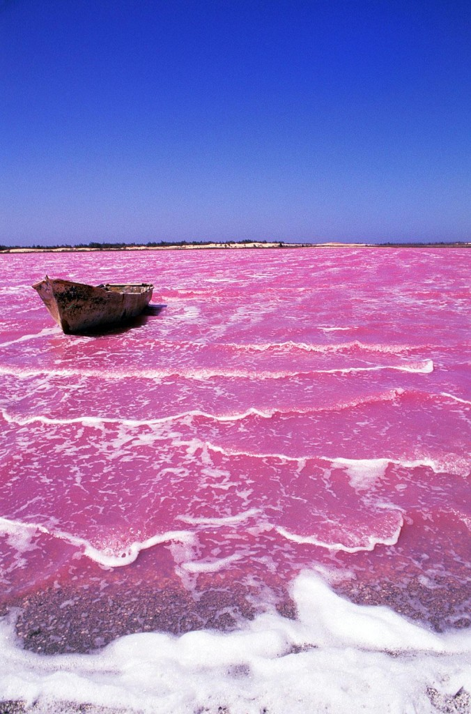 Lake Retba, Senegal