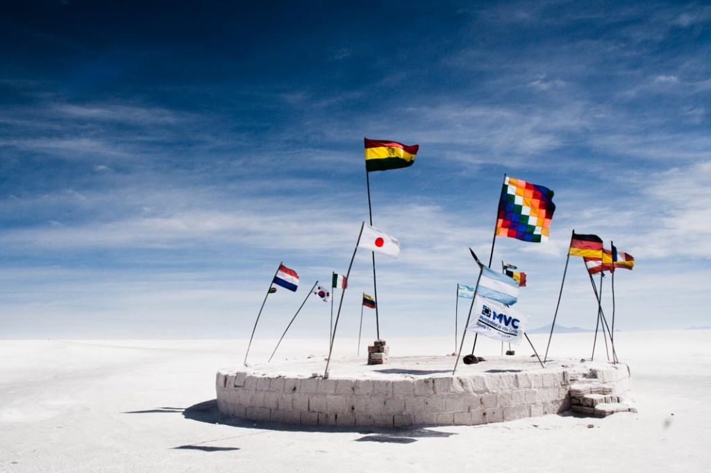 Salar de Uyuni is the World's largest salt flat