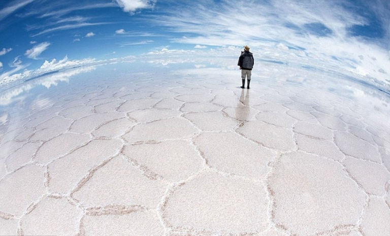 The World's Largest Salt Flat: Salar de Uyuni in Bolivia