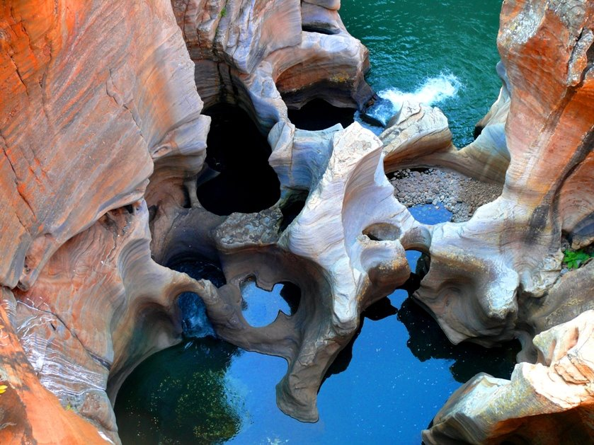 Bourkes Luck Potholes, Blyde River Canyon, Nature Reserve, South Africa