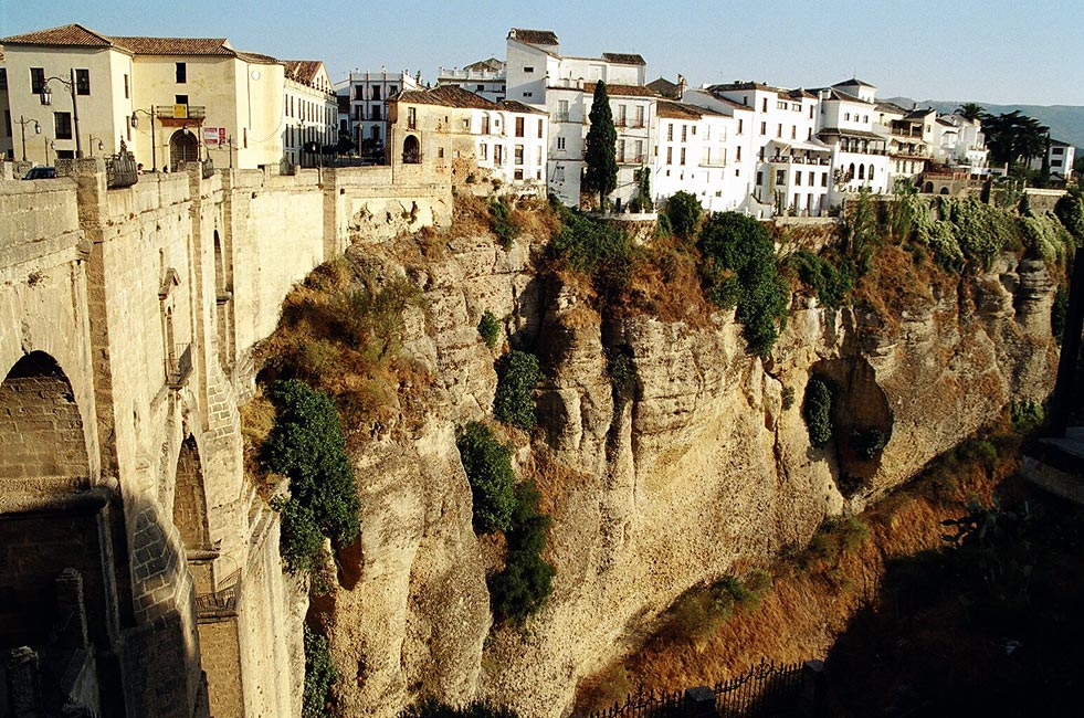 """El Tajo"" of Ronda and Ronda New Bridge"