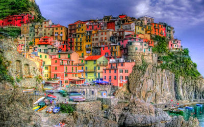 Best part of Italy to visit: Cinque Terre villages at the Italian Riviera