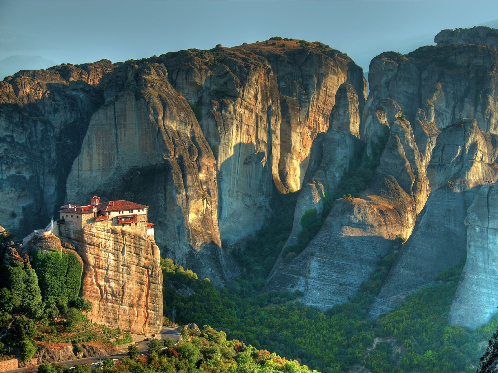 Meteora Greece monasteries