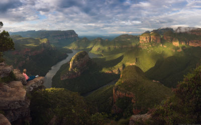 Motlatse Canyon in South Africa: World's Largest Green Canyon