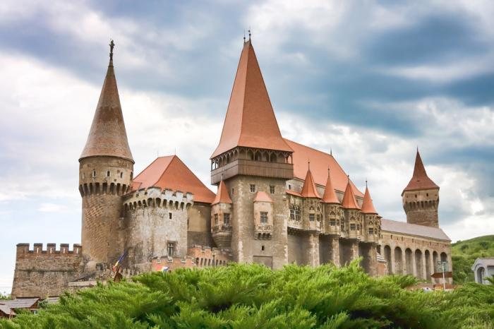 The castle of Hunyad is also a part of the Dracula legend.