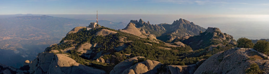 Montserrat mountains spain