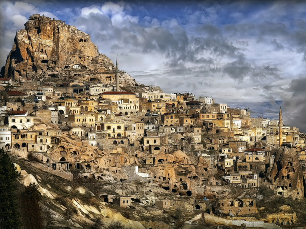 Old town Goreme Turkey