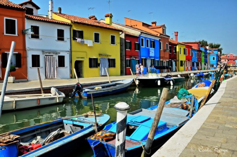 Island of Burano Venice: Brightly Colored Homes