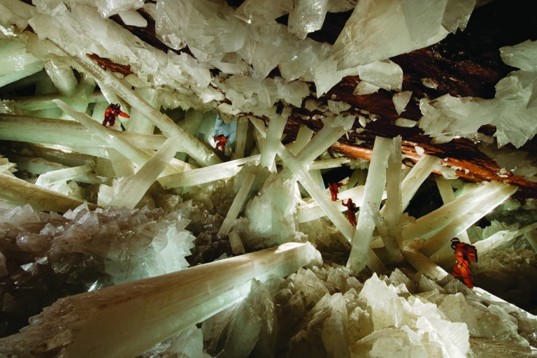 Largest crystal cave in the world