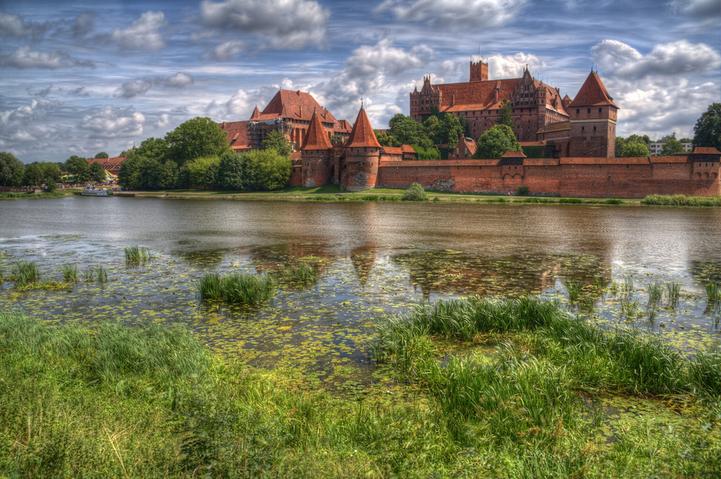 Malbork Castle in Germany