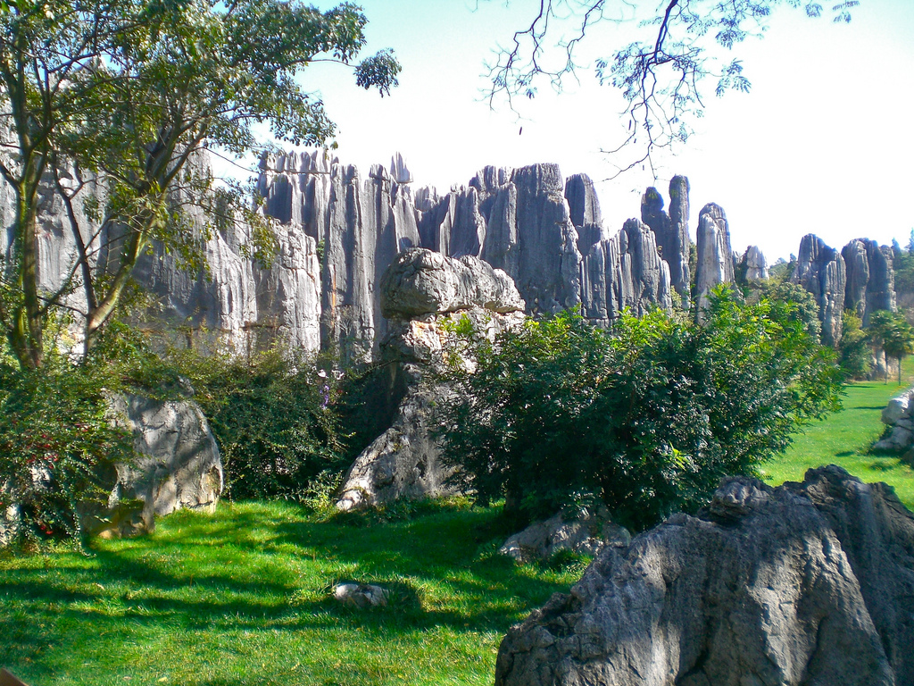 Stone Forest Shilin Yunnan China