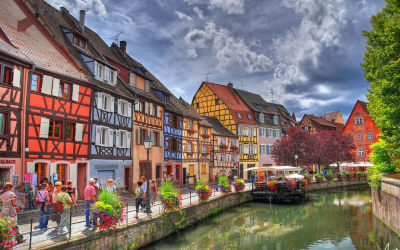 Most beautiful town in France: Colmar in Alsace