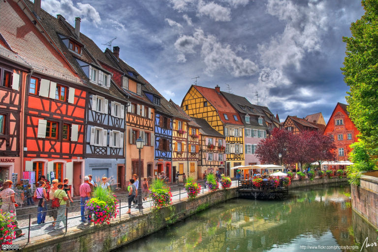 Most beautiful town in France: Colmar in Alsace: