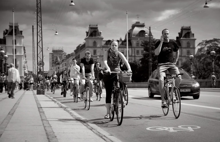 Copenhagen is world-famous for their bicycling culture