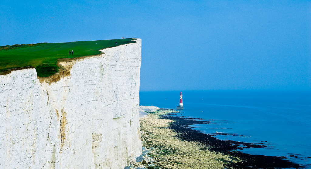 Walking Beachy Head Sussex