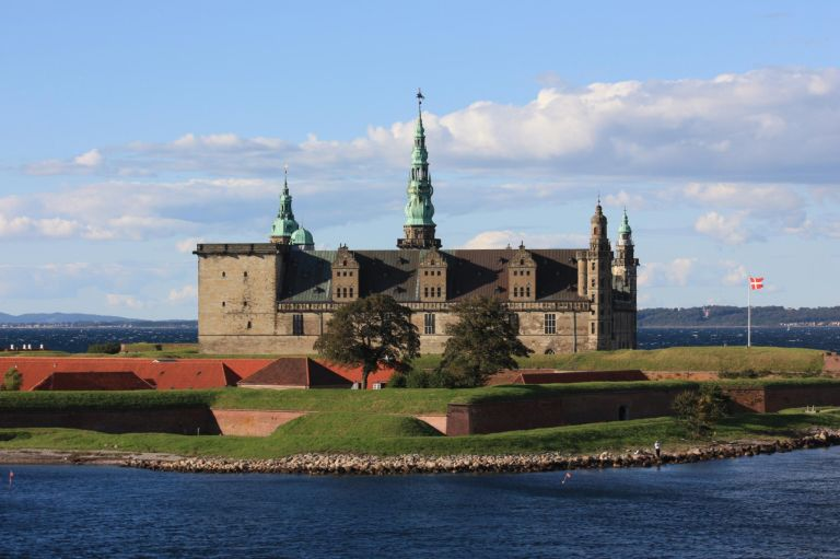 Kronborg Castle is the setting of Hamlet