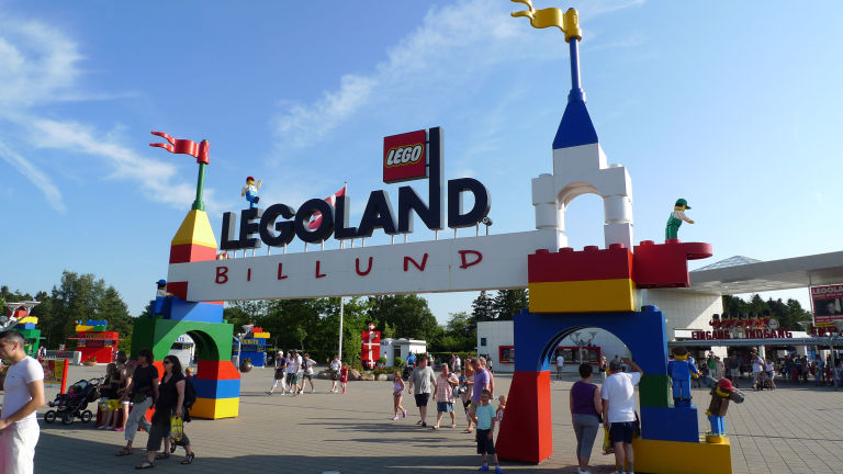 Legoland is a major theme farm located in Billund in Denmark