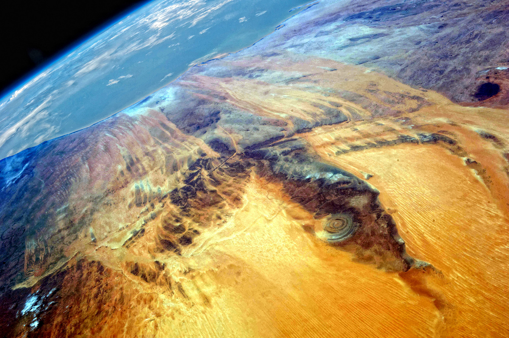 Richat Structure The Eye Of Africa