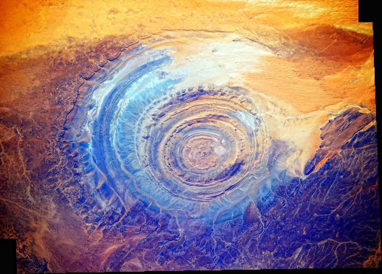 Richat Structure Mauritania