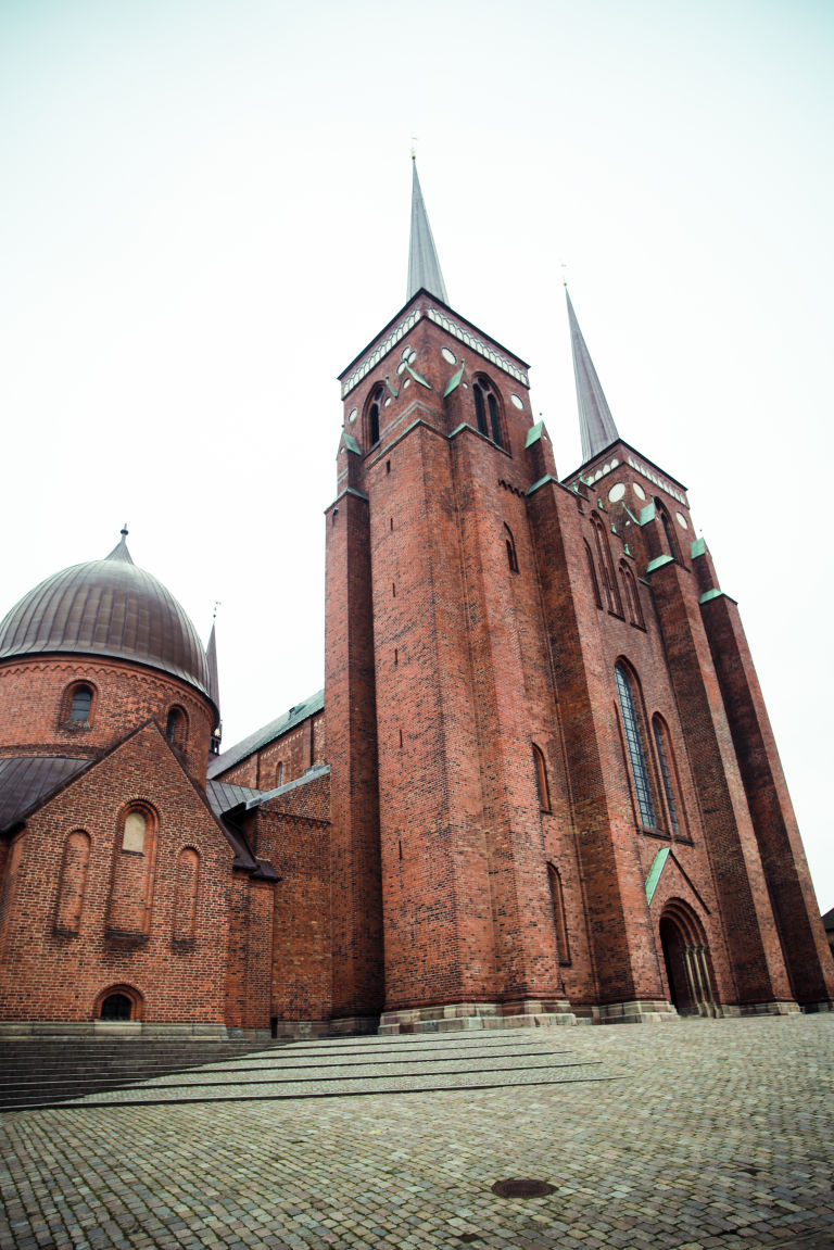 Roskilde Cathedral is an UNESCO World Heritage Site