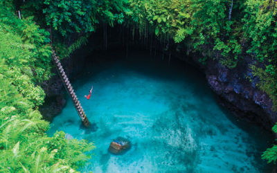 Sua Trench Samoa, Huge Natural Swimming Pool