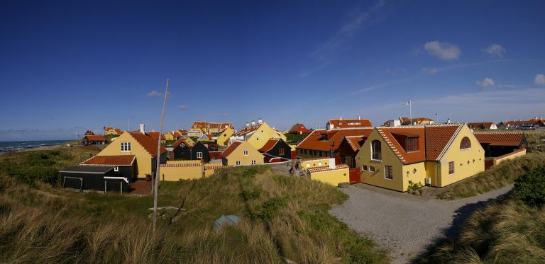 The town of Skagen Denmark