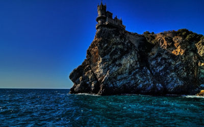 Swallow's Nest Castle Ukraine, Crimean Peninsula