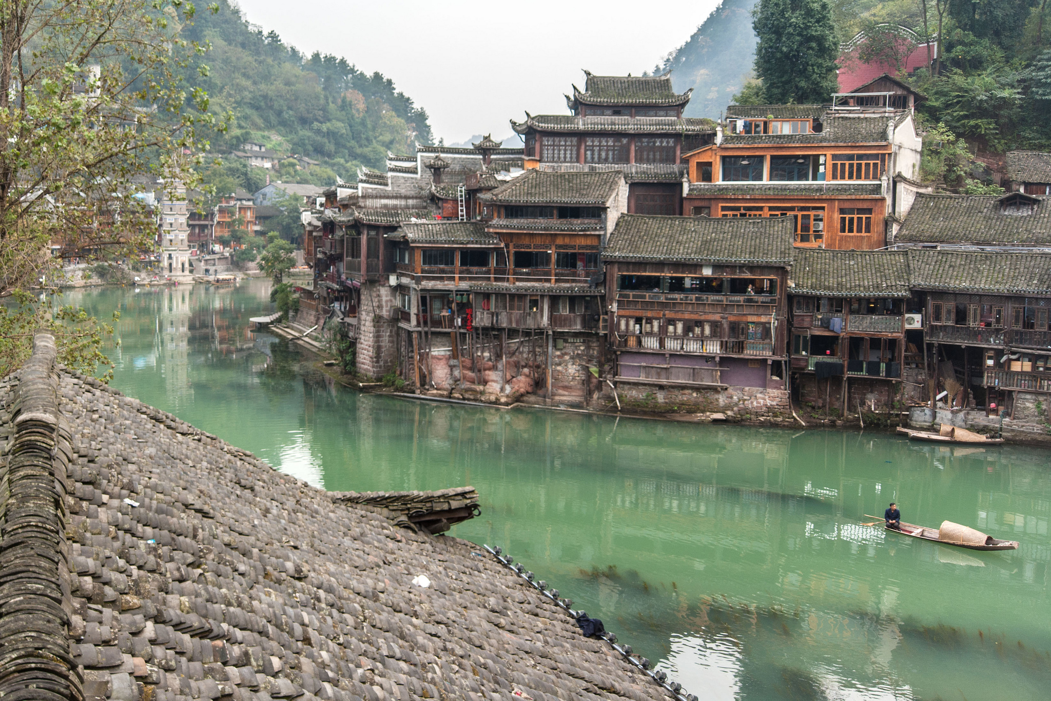 Fenghuang Ancient Town Most Beautiful City In China