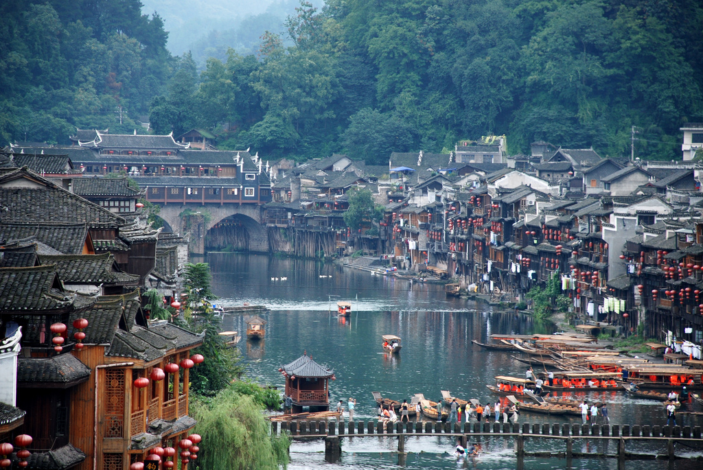 Fenghuang (Phoenix) China  City new picture : Fenghuang ancient town: Most beautiful city in China