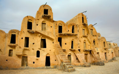 Ksour: Fortified villages in the Maghreb region