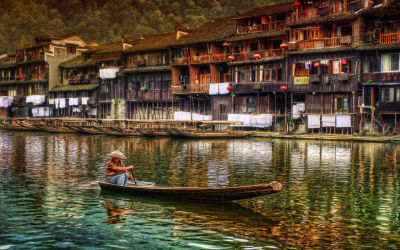 Fenghuang ancient town: Most beautiful city in China