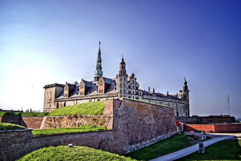 Kronborg Castle in Denmark: The setting of Hamlet