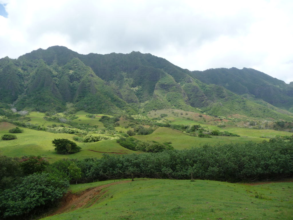 The Ka'a'awa Valley, Hawaii
