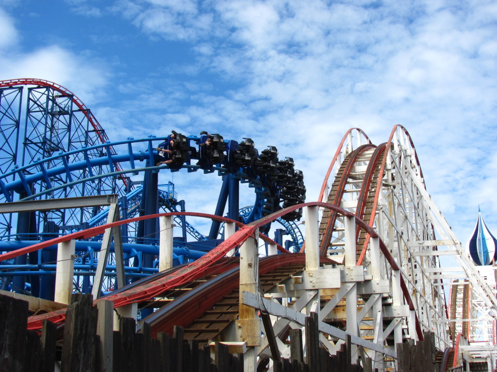Blackpool Pleasure Beach, UK