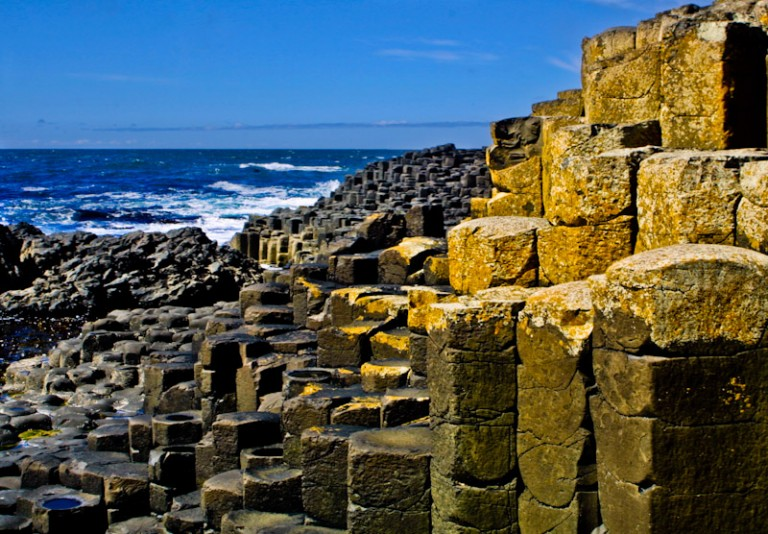 Pictures of the Giants Causeway in Ireland
