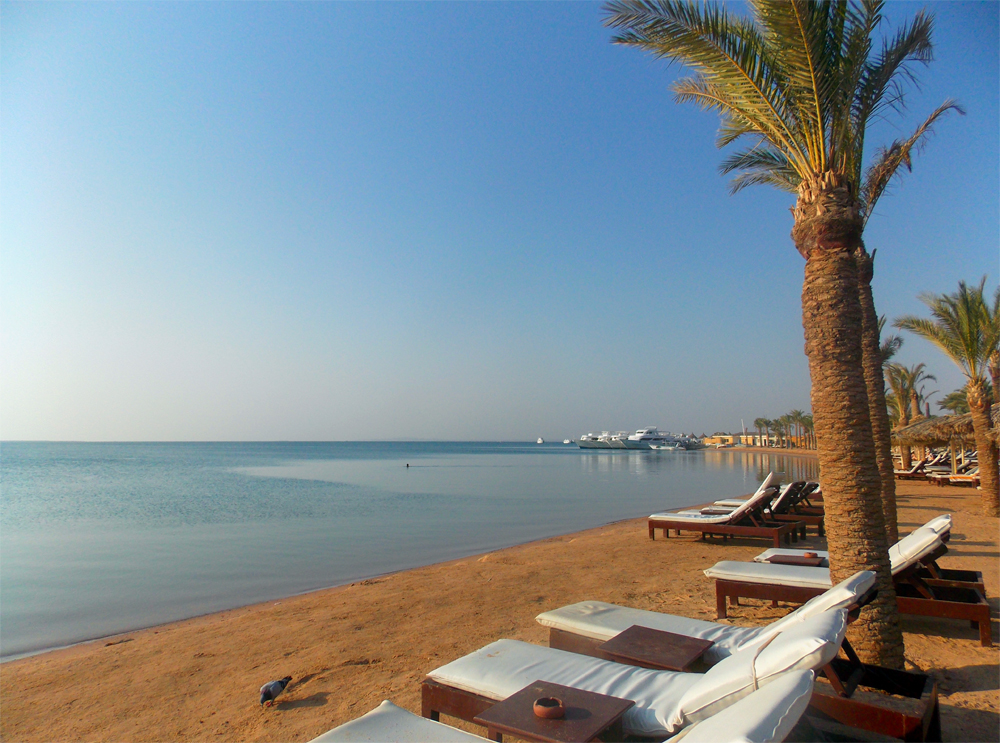Amazing seaside in Hurghada