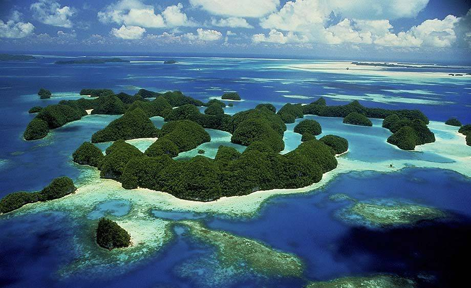 The amazing Pacific Rock Islands