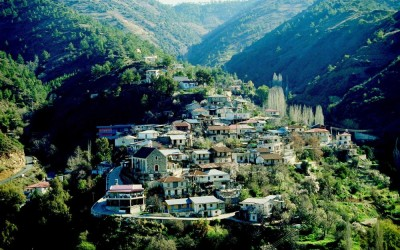 Troodos old village