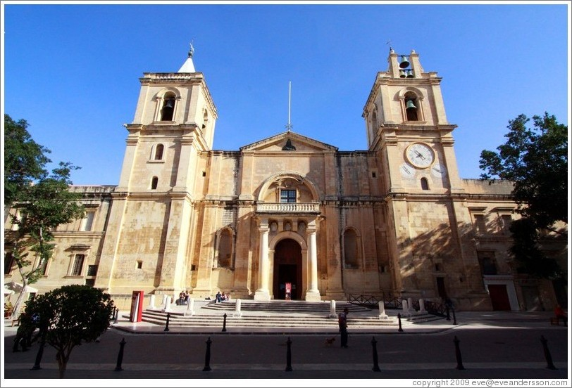 St-Johns Co Cathedral, Valletta, Malta
