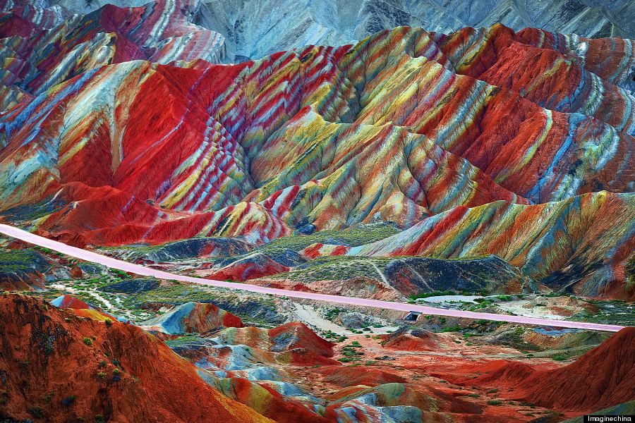 zhangye danxia gansu china
