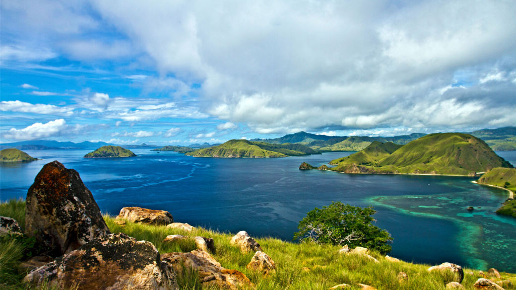 Komodo Island is among the world's seven natural wonders