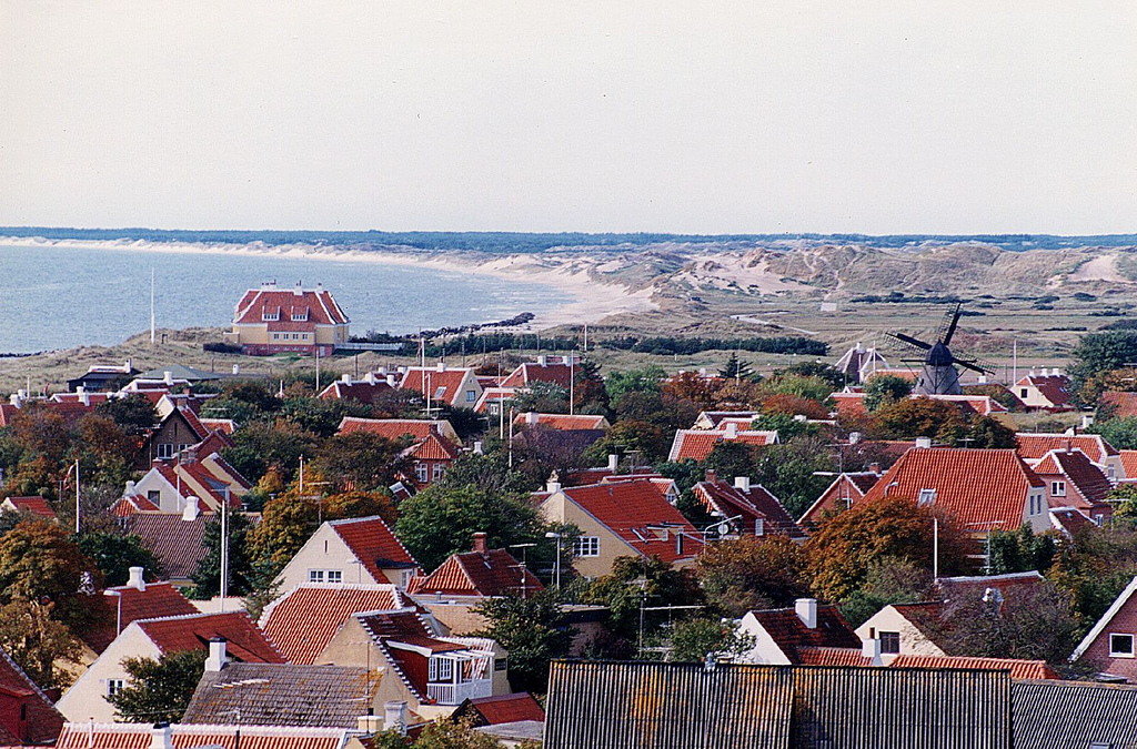 The old part of Skagen is a very popular district and is the best holiday destination in Denmark